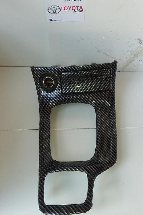Gen7 Celica gear stick surround carbon look 1.8 vvti 140 99-06