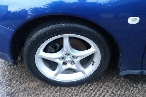 Gen 7 Celica 16inch alloy wheels with tyres