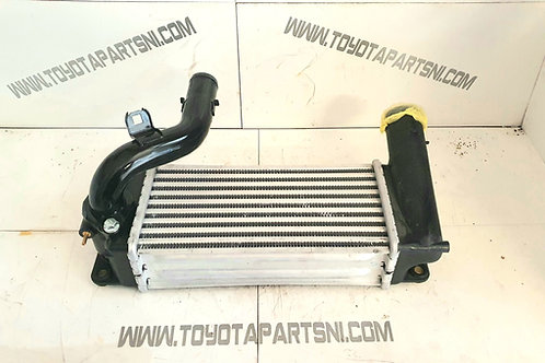 Auris 1.4 d4d turbo intercooler and pipe unit 06/2013