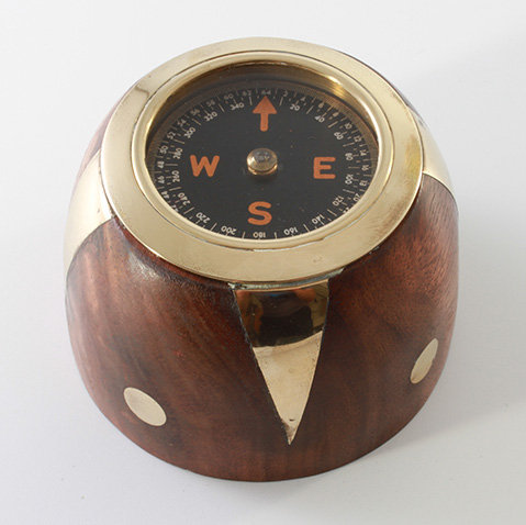 """1.5"""" Paperweight Compass by Clipperlight - © Nick Gravenor"""