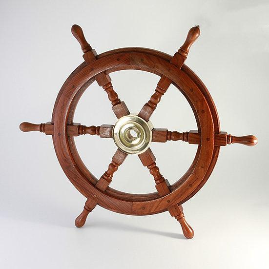 "25"" Ships Wheel by Clipperlight - © Nick Gravenor"