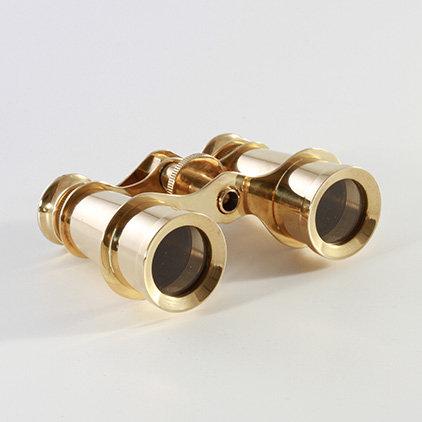 "3"" Brass Binoculars by Clipperlight - © Nick Gravenor"