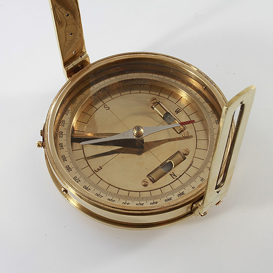 """4.5"""" Surveying Compass by Clipperlight - © Nick Gravenor"""