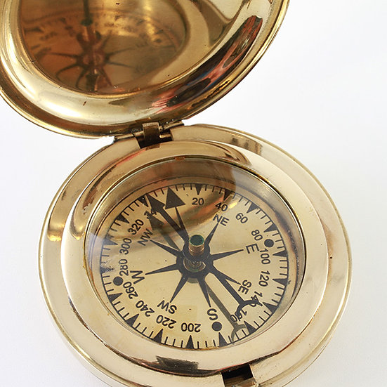 "2"" Ghandi Compass by Clipperlight - © Nick Gravenor"