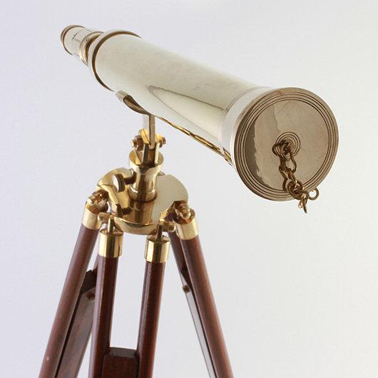 "18"" Brass Telescope by Clipperlight - © Nick Gravenor"