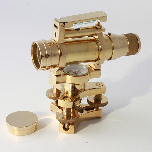 "3"" Brass Dumpy Level by Clipperlight - © Nick Gravenor"
