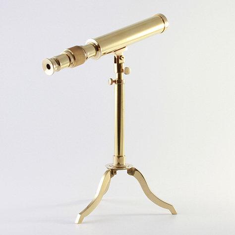 "10"" Brass Telescope by Clipperlight - © Nick Gravenor"