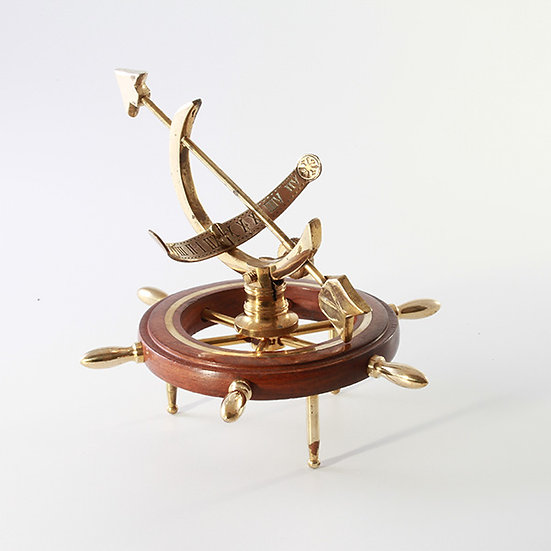 "4"" Ships Wheel Armillary by Clipperlight - © Nick Gravenor"
