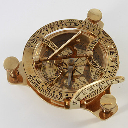 "4"" Sundial Compass by Clipperlight - © Nick Gravenor"
