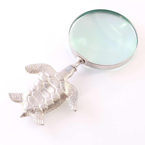 """4"""" Turtle Magnifying Glass by Clipperlight - © Nick Gravenor"""