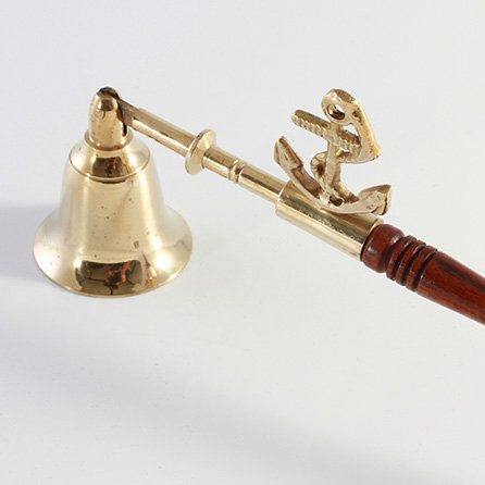 Brass Candle Snuffer with Anchor Motif by Clipperlight - © Nick Gravenor