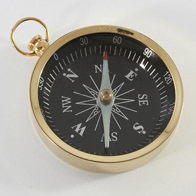 "3"" Brass Pocket Compass by Clipperlight - © Nick Gravenor"