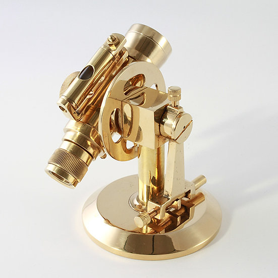 Brass Dumpy Level by Clipperlight - © Nick Gravenor