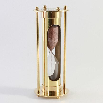 "3"" Brass Sand Timer by Clipperlight - © Nick Gravenor"