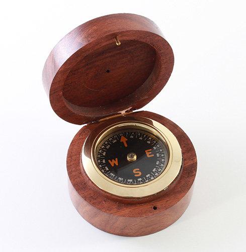 "1.5"" Compass by Clipperlight - © Nick Gravenor"