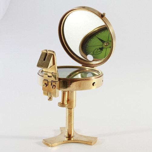 "2.5"" Brass Prismatic Compass by Clipperlight - © Nick Gravenor"
