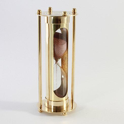"2.75"" Brass Sand Timer by Clipperlight - © Nick Gravenor"