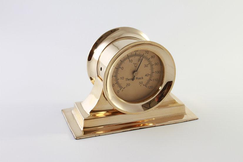 "3"" Brass Thermometer by Clipperlight - © Nick Gravenor"
