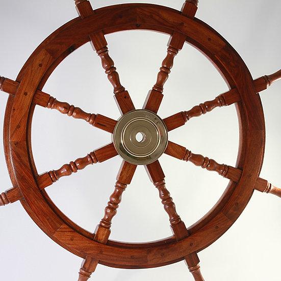 "36"" Ships Wheel by Clipperlight - © Nick Gravenor"