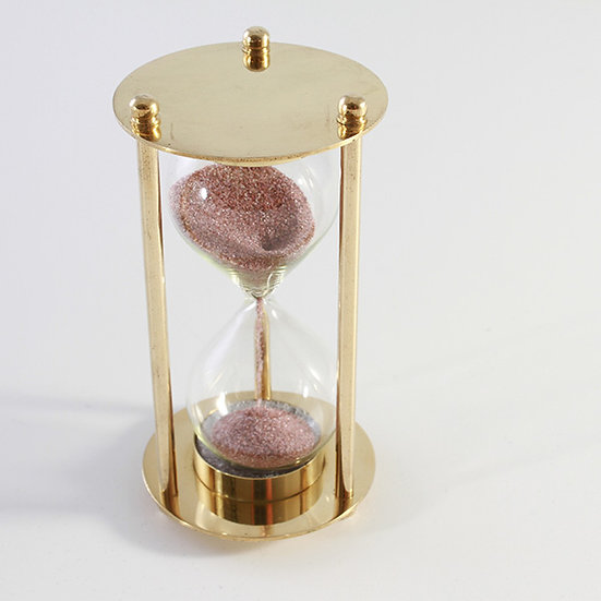 "2"" Brass Sand Timer by Clipperlight - © Nick Gravenor"