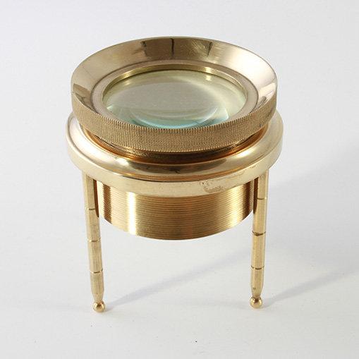 """3"""" Brass Chart Magnifier by Clipperlight - © Nick Gravenor"""