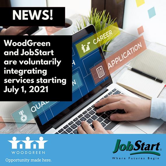 WoodGreen JobStart announcement (1) (002