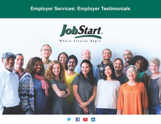 Employer Testimonials - Front
