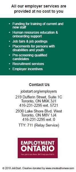 Employer Services Flyer - Back