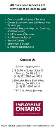 Client Services Flyer - Back