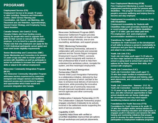 JobStart Brochure - Back