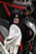 Golf glove holder on golf bag.jpg
