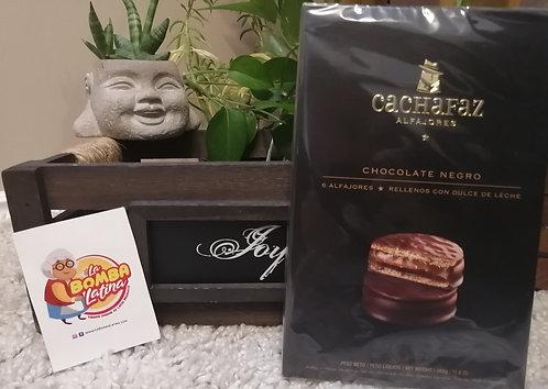 Alfajor Cachafaz Chocolate - 6 Unidades