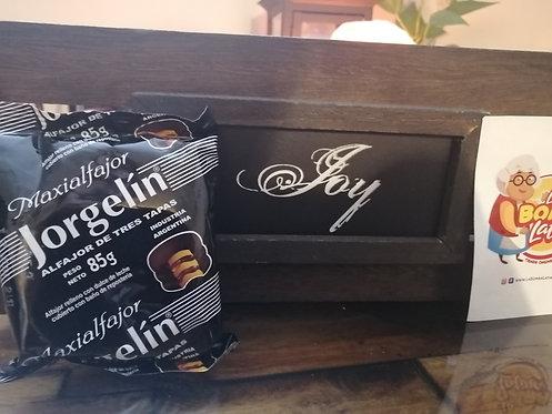 Alfajor Jorgelin Chocolate - Triple