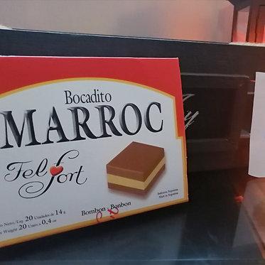 MARROC bocadito de chocolate - 20 UNIDADES (280 grs)