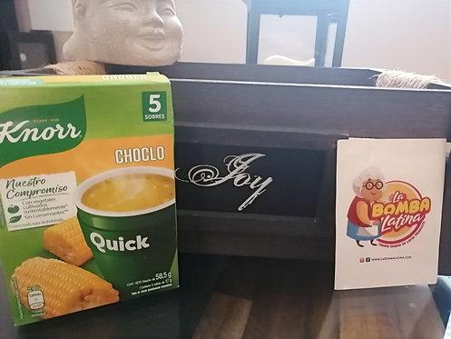 Sopa Quick Knorr - 5 Sobres -Choclo