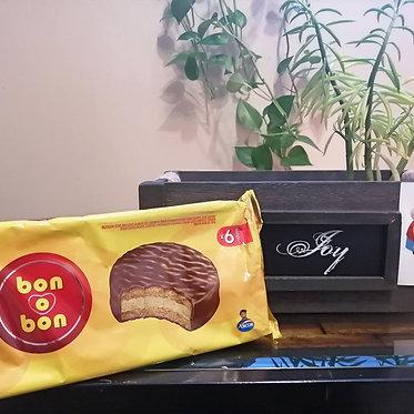 Alfajor Bon o Bon Tradicional - pack 6 unidades