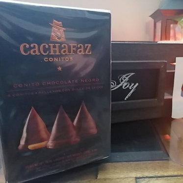 Cachafaz Conitos de Chocolate con dulce de leche - 6 Unidades
