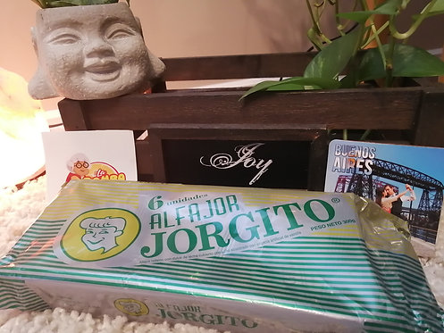 Alfajor Jorgito Glaseado - PACK 6 Unidades