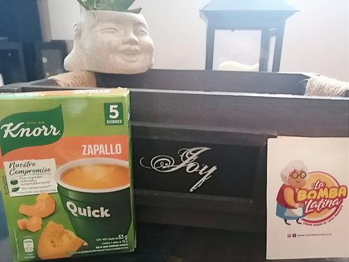 Sopa Quick Knorr - 5 Sobres - Zapallo