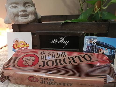 Alfajor Jorgito Chocolate - PACK 6 Unidades