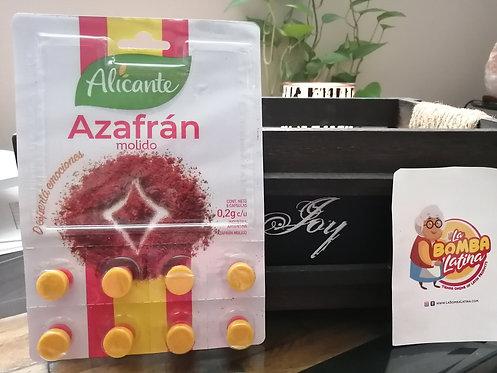 Azafran Molido Alicante - envase 8 unidades