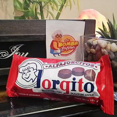 Alfajorcito Jorgito 6 unidades - Chocolate