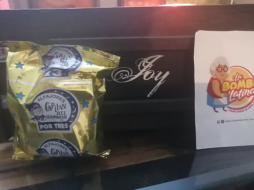 Alfajor Capitan del Espacio TRIPLE - Chocolate