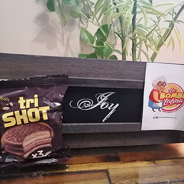 Alfajor de Chocolate TRI-SHOT