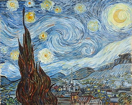 Starry Night Reproduction by Kelleyzart