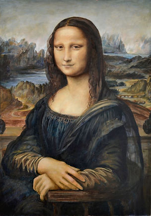 Mona Lisa Reproduction by Kelleyzart