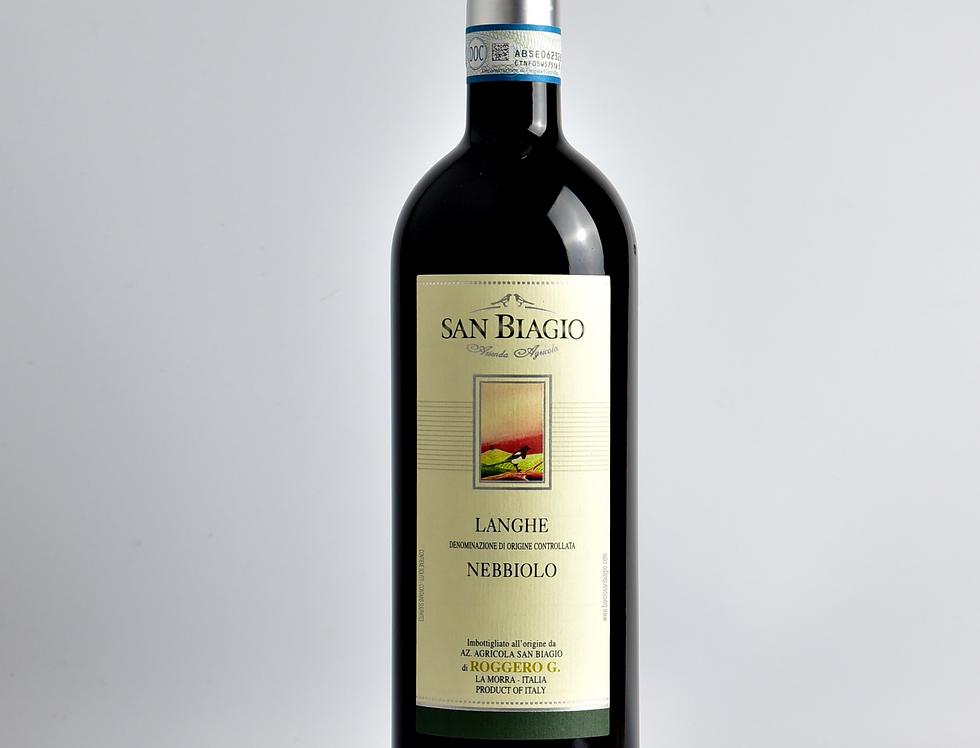 Langhe Nebbiolo DOC 2016   San Biagio