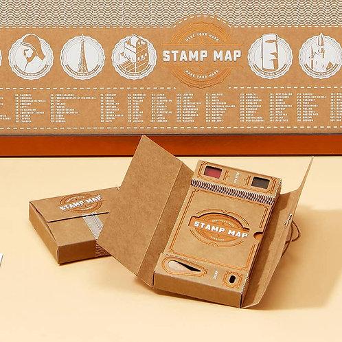 Stamp Map Passport