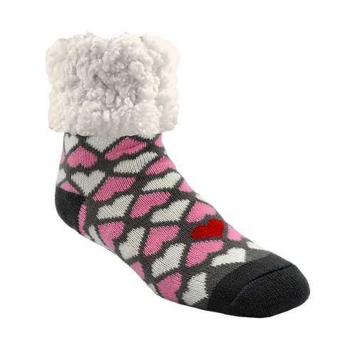 Hearth Valentine Pink - Pudus Sock