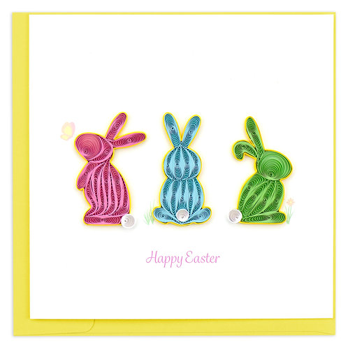 Quilling Card - Happy Easter